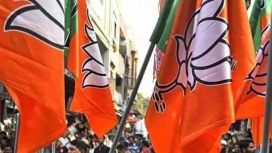 After parting ways two months ago in protest against the Citizenship (Amendment) Bill, the Asom Gana Parishad (AGP) sealed a pre-poll alliance with the Bharatiya Janata Party (BJP) late on Tuesday night to contest the Lok Sabha election 2019.(Bloomberg)