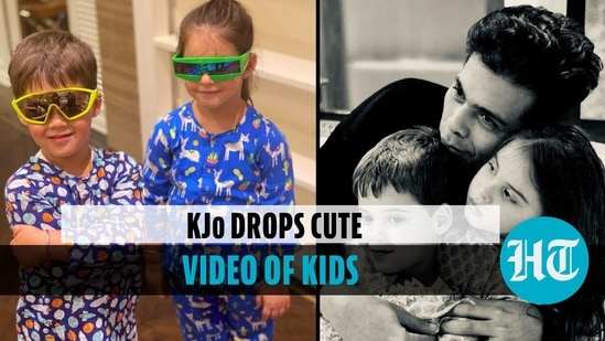 Karan Johar's daughter Roohi turns 'mummy' for brother Yash in new video