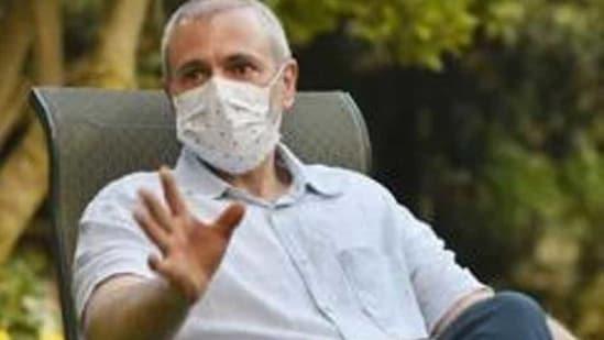 Jammu and Kashmir National Conference leader Omar Abdullah(HT File Photo)