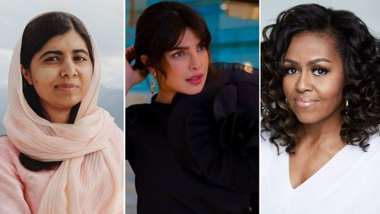 Malala Yousufzai, Priyanka Chopra Jonas and Michelle Obama(Instagram)