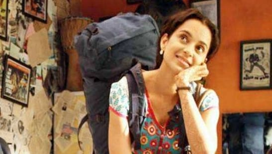 Kangana Ranaut played the lead role in Queen.