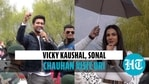 Vicky Kaushal, Sonal Chauhan visit Uri for the first time