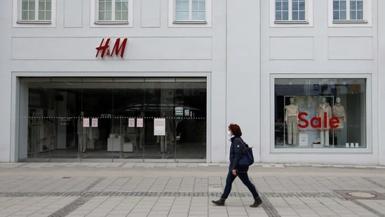 A Hennes & Mauritz (H&M) store in Germany is seen in this file picture. H&M was extremely concerned about the situation in the country and that it was in dialogue with UN agencies, diplomatic representatives, human rights experts, trade unions and other multinational companies.(REUTERS)