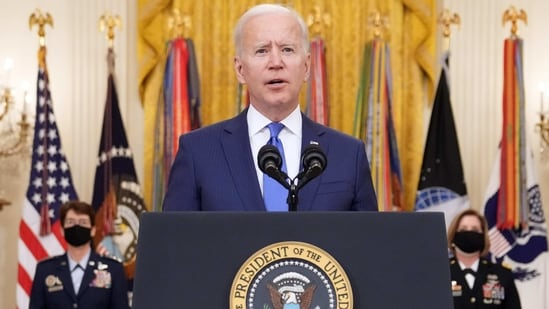"""The draft """"Afghanistan Peace Agreement"""" is the second key document related to the Biden administration's efforts to push the peace process in Afghanistan that has leaked in recent days Bloomberg(Bloomberg)"""