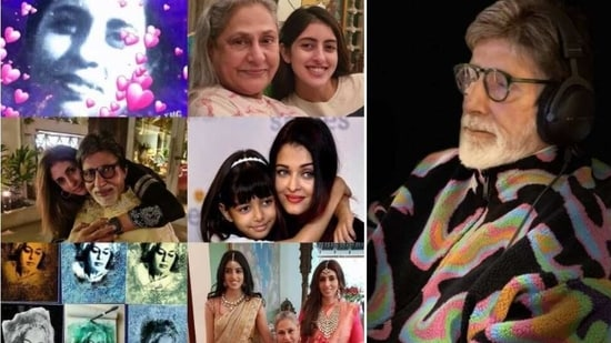 Amitabh Bachchan celebrated all the women in his life on Women's Day.