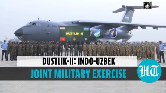 Uzbekistan Army contingent reach Delhi for Indo-Uzbek Joint Exercise Dustlik-II