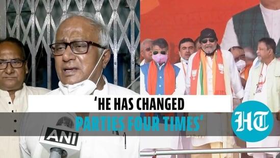 TMC's Saugata Roy takes a jibe at Mithun Chakraborty for joining BJP