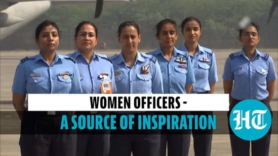 IAF women officers said families should support women in joining the armed forces