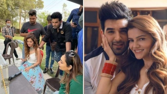 Rubina Dilaik and Paras Chhabra will feature in a music video.