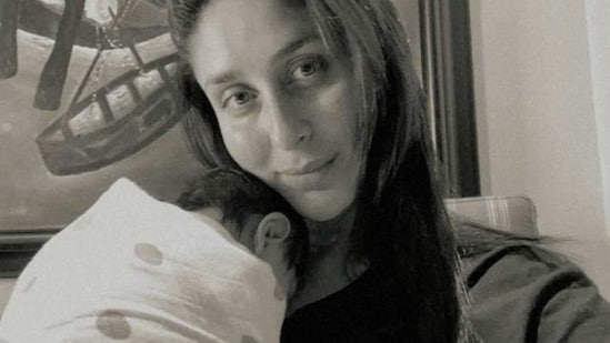 Kareena Kapoor Khan took to Instagram to share a picture of herself with her newborn baby boy on the occasion of International Women's Day.