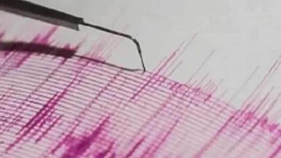 The tremor was recorded at 7.42 AM with its epicentre 13 km east-north-east of Dudhai in Kutch district(PTI/ Representational photo)