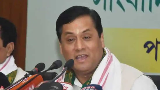 The BJP has clear policies on important aspects of life and the government has worked with that in the past, Sonowal said.(HT File Photo)