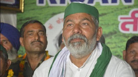 BKU leader Rakesh Tikait. (HT file photo)