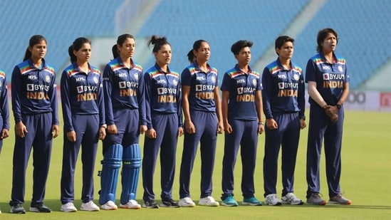 The Indian national women's team ahead of the first ODI against South Africa. (BCCI)