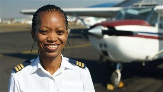Women's Day 2021: SA's first female Black helicopter pilot breaks barriers(Twitter/AidaMSykes)