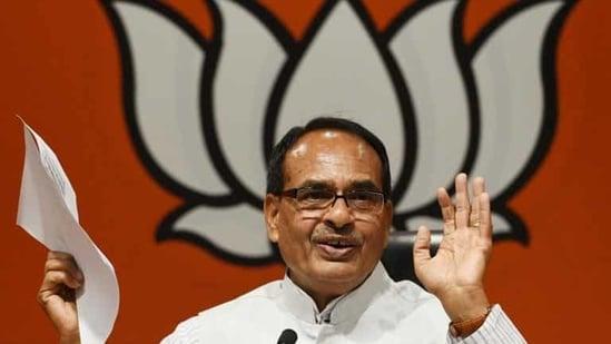 File photo: Madhya Pradesh chief minister Shivraj Singh Chouhan.(Raj K Raj/HT PHOTO)
