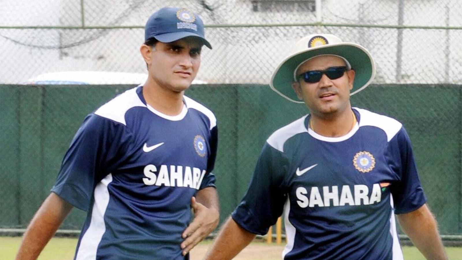 'After Gavaskar, I haven't seen a better Indian Test opening batsman than him': Sourav Ganguly hails Virender Sehwag - Hindustan Times