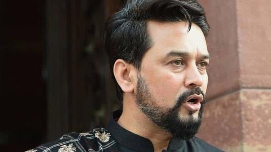 MoS (Finance) Anurag Thakur (File Photo/PTI)