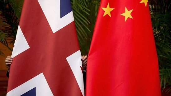 An article shared by Britain's envoy to Beijing Caroline Wilson on WeChat has stoked controversy between both nations. (REUTERS)