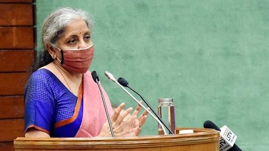 Union Minister for Finance and Corporate Affairs, Nirmala Sitharaman (ANI)