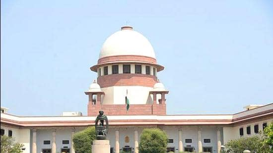 A view of the Supreme Court. (HT Archive)