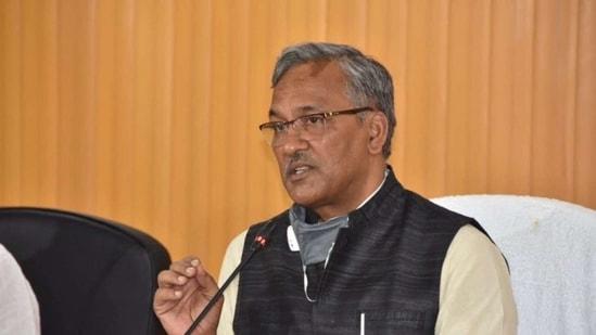 Uttarakhand chief minister Trivendra Singh Rawat(File photo)