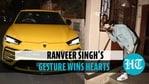 Ranveer Singh wins hearts after greeting an elderly fan in Mumbai