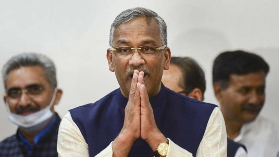 Trivendra Singh Rawat sided with bureaucrats who didn't create the right kind of impression for the government, an official said.(PTI)