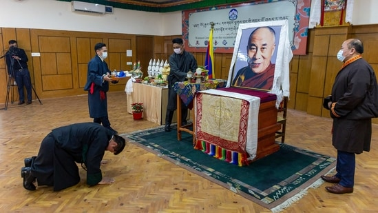 It is the policy of the US to take all appropriate measures to hold accountable senior officials of the Chinese government who directly interfere with the identification and installation of the future 15th Dalai Lama of Tibetan Buddhism, successor to the 14th Dalai Lama(AP)