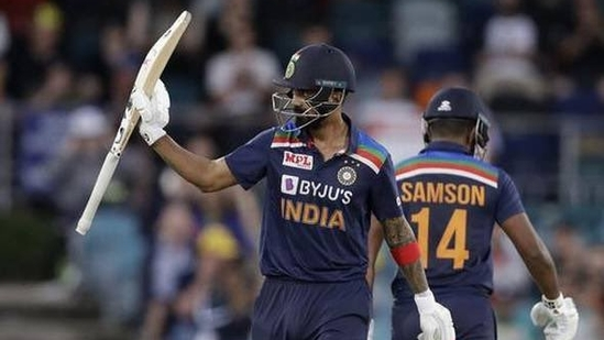 KL Rahul slipped one position and is now at the third spot(Twitter)