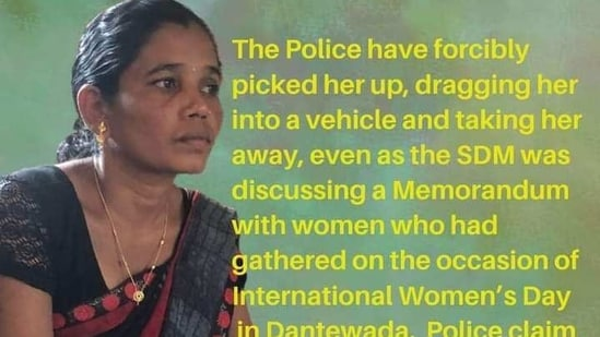A campaign is being run by activists in Bastar alleging Hidme was forcibly picked up by the police.(Sourced Photo)