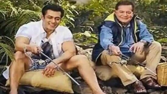 Salman Khan continues to stay at his galaxy Apartments complex in Bandra with his parents.