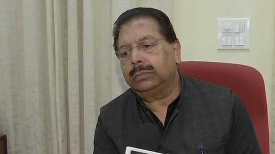File photo of senior Congress leader PC Chacko.(ANI)