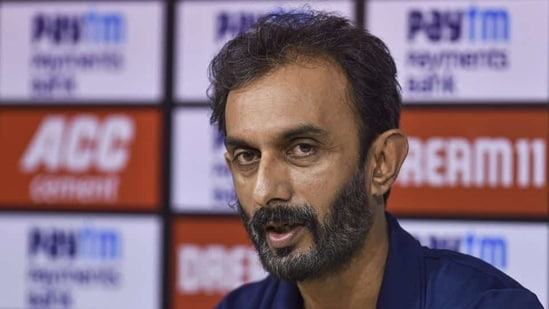 Indian team batting coach Vikram Rathour. File(PTI)
