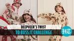 Ranveer Singh's surprise cameo in Deepika Padukone's Buss It challenge