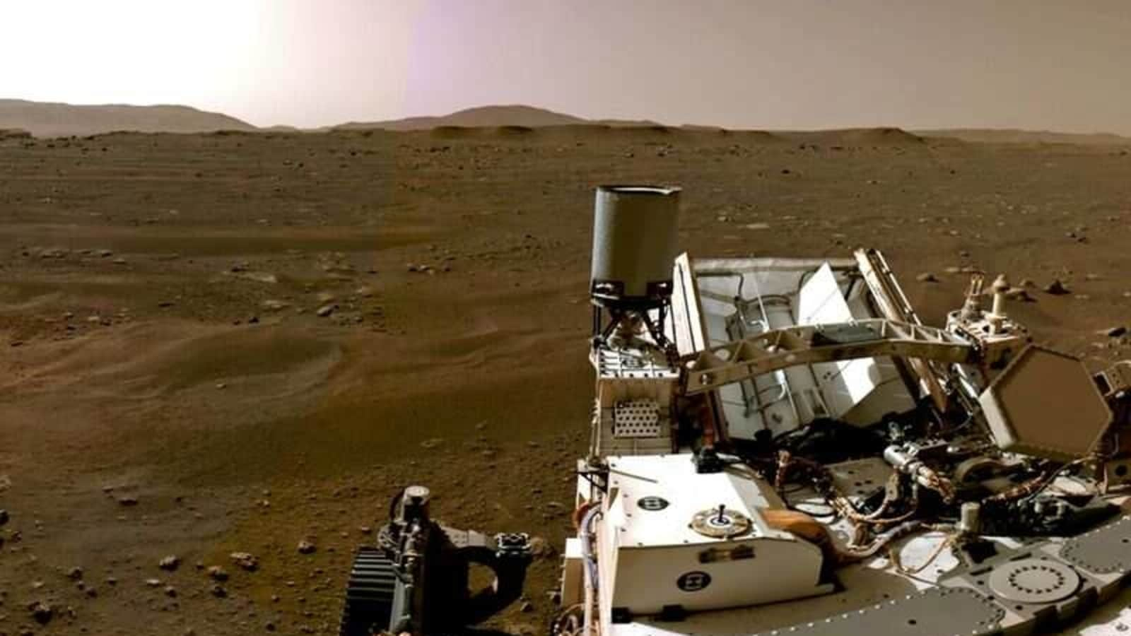 NASA's Perseverance 'SuperCam' begins hunt for past life on Mars - Hindustan Times