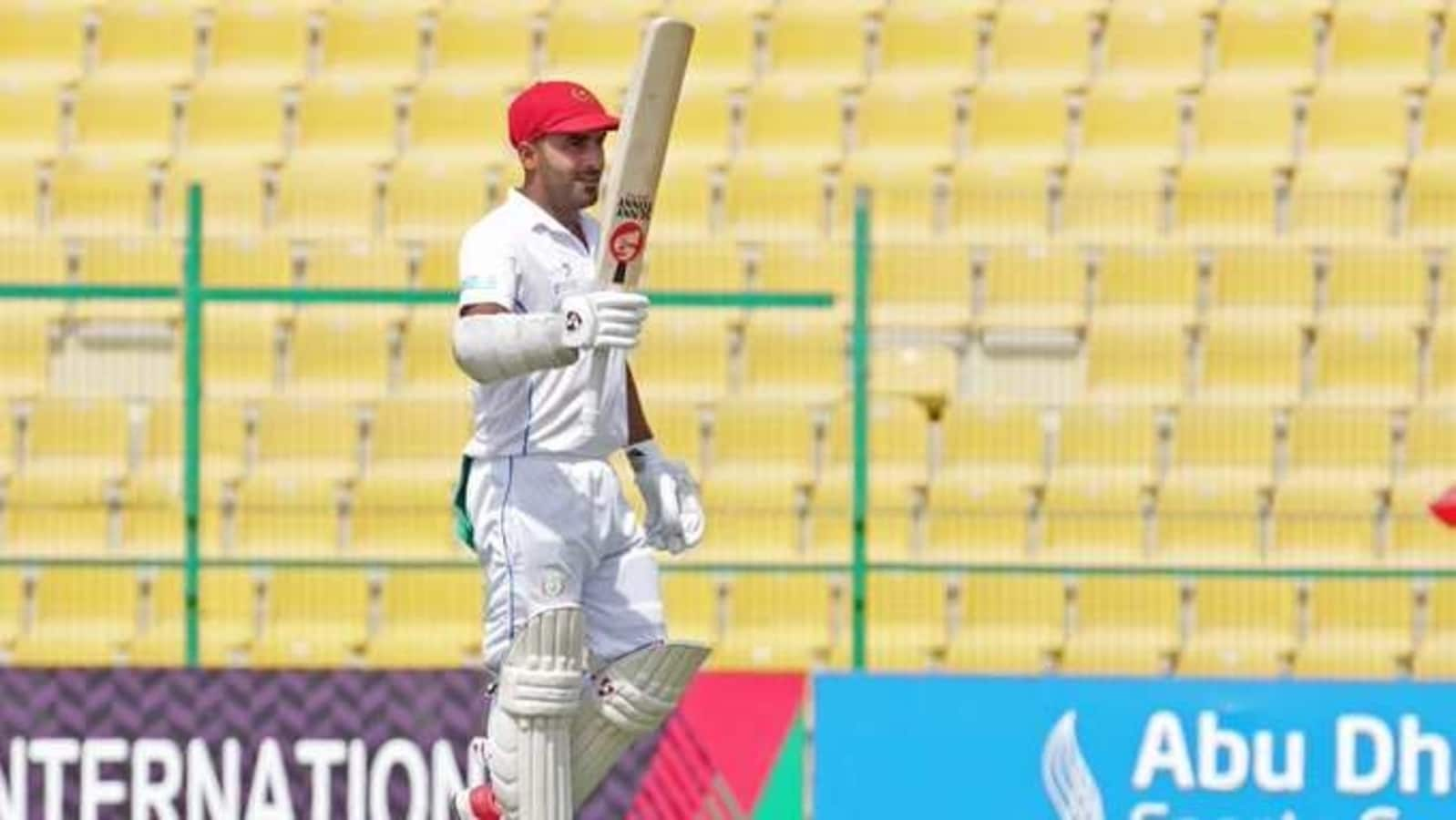 Shahidi becomes first Afghan player to smash test double hundred - Hindustan Times