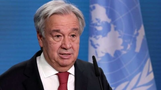 """UN chief Antonio Guterres said he had one simple message: """"if you don't feed people, you feed conflict.""""(Reuters)"""