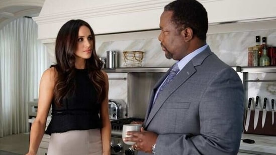 Wendell Pierce played Meghan Markle's father on Suits.
