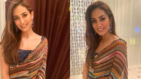 Mira Rajput attends wedding in Delhi(Instagram/mira.kapoor and delnanallaseth)