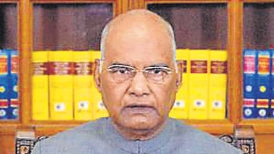 President Ram Nath Kovind will adress both the Houses of Parliament on Friday. (File photo)