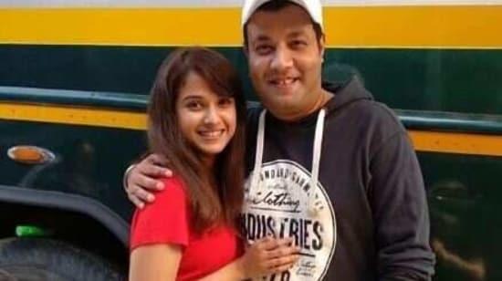Varun Sharma poses with Disha Salian.