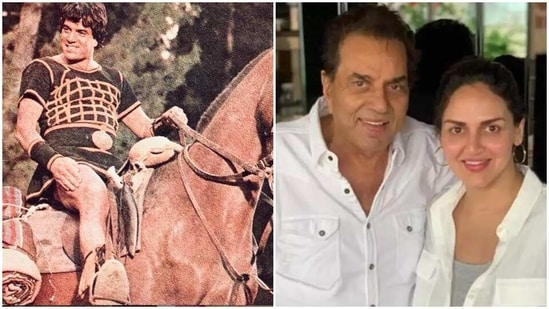 Esha Deol has left a comment on her father Dharmendra's latest post.