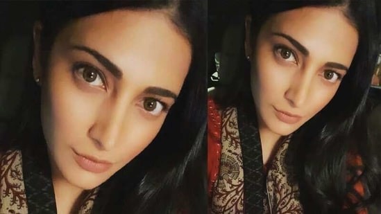 Shruti Haasan has shared a new picture of herself on Instagram.