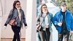 Priyanka Chopra during casual stroll with Nick(Instagram/jsistersnews)