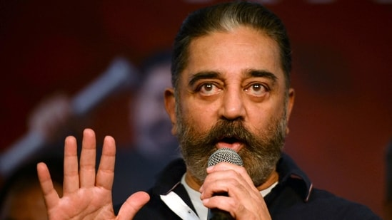 Actor-turned-politician and MNM chief Kamal Haasan. (AFP)