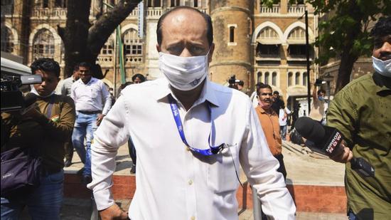 Assistant Police Inspector Sachin Vaze. (PTI)