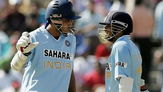 Sachin Tendulkar and Sourav Ganguly make for the world's most successful opening pair in ODIs. (Getty Images)