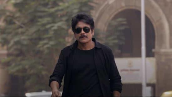 Nagarjuna Akkineni in the trailer of Wild Dog.