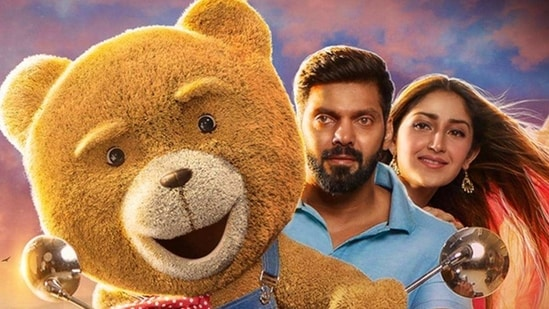 Teddy movie review: Arya teams up with teddy bear for an action adventure.